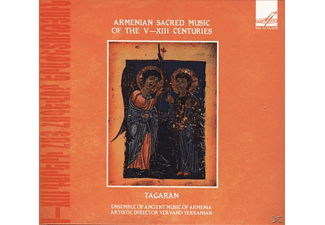 Yerkanian/Ensemble of Ancient Music of Armenia - Geistliche Musik aus Armenien V.-XIII.Jahrhundert - (CD)
