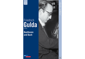 Friedrich Gulda - Friedrich Gulda Plays Beethoven And Bach - (DVD)