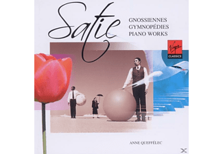 Queffelec Anne - Satie: Gnossiennes & Gymnopédies, Piano Works [CD]