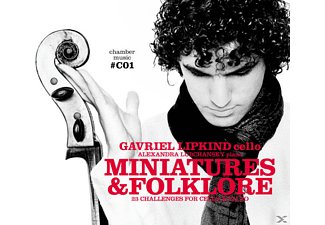 Gavriel Lipkind - Miniatures & Folklore - (CD)