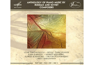 Luka Okrostsvaridze, Natalie Ruchkina, Asiya Korepanova, Mikhail Turpanov, Nikita Mndoyants - Anthology of Piano Music,Part 1,Disc 2 - (CD)