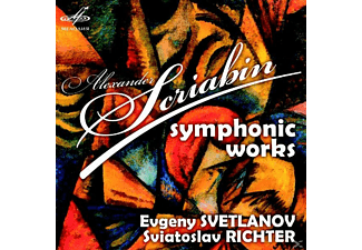 Sviatoslav Richter, USSR State Radio And Television Big Choir, State Symphony Orchestra - Symphonic Works - (CD)