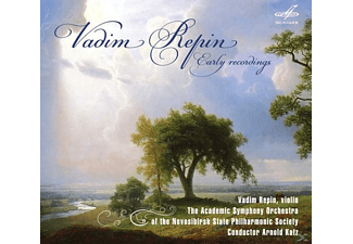 The Academic Symphony Orchestra Vadim Repin (vl), Repin,Vadim/Katz,Arnold - Early Recordings - (CD)