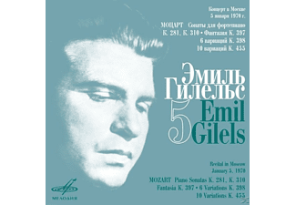 Emil Gilels - Gilels Edition Vol.5-Sonaten - (CD)
