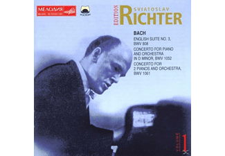 Sviatoslav Richter - Sviatoslav Richter Edition vol. 1 Bach - (CD)