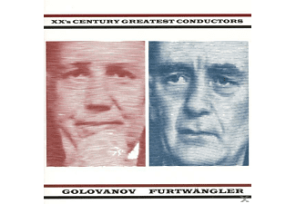 Wilhelm Furtwängler, Golovanov/Furtwängler - 20th Century Greatest Conductors - (CD)
