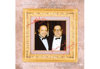 Nikolai Petrov - MUSIC FOR 2 PIANOS - (CD)
