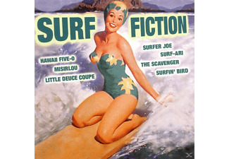 VARIOUS - Surf Fiction - (CD)