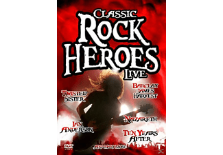 VARIOUS - Classic Rock Heroes LIVE - (DVD)