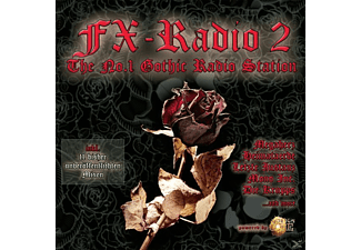 VARIOUS - Fx Radio Vol.2-The No.1 Gothic Radio Station - (CD)