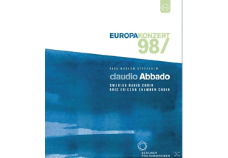 Ericson/Abbado/Berl.Phil., Abbado/BPO/Swedish Radio Choir - Europakonzert 1998 Stockholm - (Blu-ray)