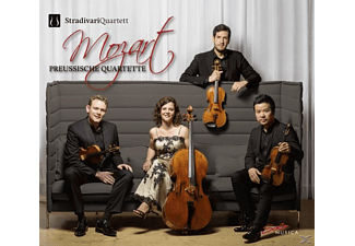 Stradivari Quartet - Mozart: String Quartets - (CD)