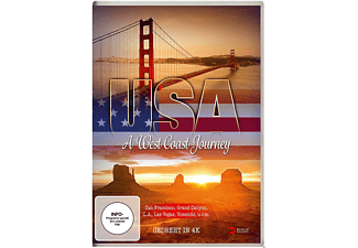 USA - A West Coast Journey - (DVD)