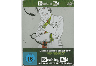 Breaking Bad - Staffel 3 (Limited Steelbook) [Blu-ray]