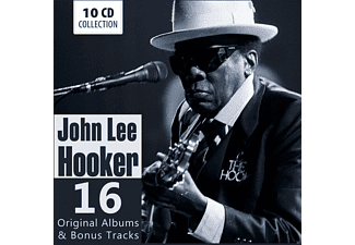 John Lee Hooker - 16 Original Albums & Bonus Tracks [CD]