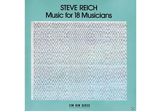 GUIBBORY,SHEM & ISHII,KEN, Steve And Musicians Reich - Music For 18 Musicians - (CD)