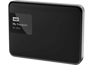WD MY PASSPORT MAC 2TB - Silver