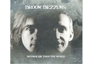 Broom Bezzums - No Smaller Than The World - (CD)
