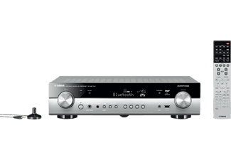 YAMAHA RX-AS710D, AV-Receiver, Phono-Eingang, Titanium