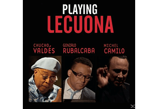 VARIOUS - Playing Lecuona/OST - (CD)