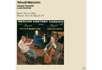 Louis Kentner, Gaspar Cassado, Yehudi Menuhin - Ravel: Trio In A Minor-Mozart: Trio In E Major [CD]
