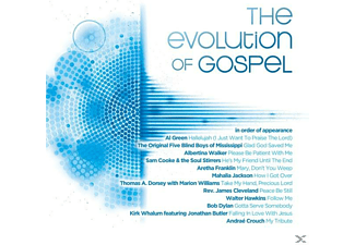 VARIOUS - The Evolution Of Gospel [CD]