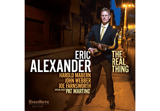 Eric Alexander - The Real Thing [CD]