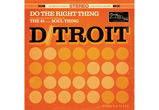 "D/Troit - Do The Right Thing (10"" Vinyl) [Vinyl]"