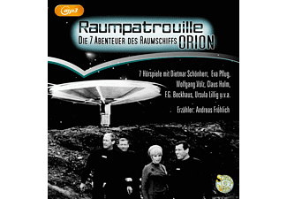 RAUMPATROUILLE - Die 7 Abenteuer des Raumschiffs ORION - 1 MP3-CD - Science Fiction/Fantasy