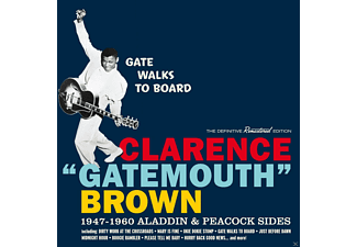Clarence Gatemouth Brown - Gate Walks To Board-1947-1960 Aladdin & [CD]