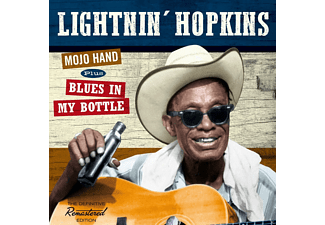 Lightnin' Hopkins - Mojo Hand+Blues In My Bottle+2 Bonus Tracks - (CD)