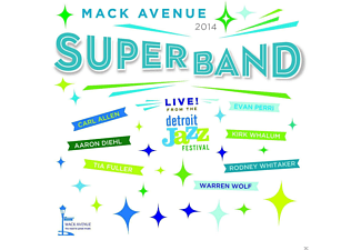 Mack Avenue Superband - Live From The Detroit Jazz Festival 2014 [CD]