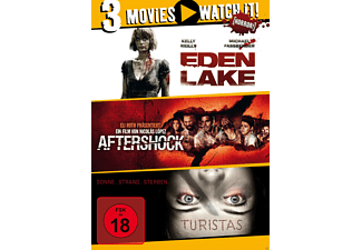 3er Collection: Eden Lake + Aftershock + Turistas [DVD]