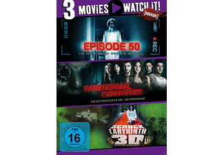 3er Collection: Episode 50 + Paranormal Experience + Shock Labyrinth [DVD]