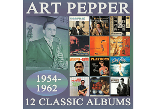 Art Pepper - 12 Classic Albums 1954-1962 - (CD)