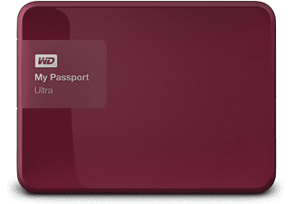 WD My Passport Ultra 1 TB Wild Berry