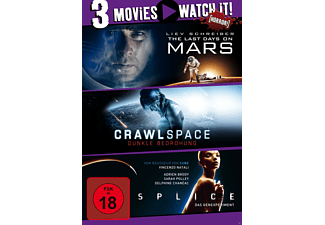 3er Collection: Last Days on Mars + Crawlspace + Splice [DVD]