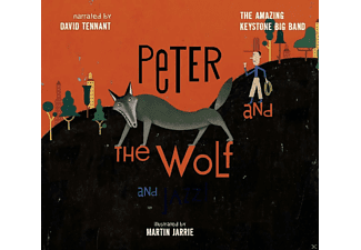 David Tennant, The Amazin Keystone Big Band - Peter And The Wolf And Jazz! - (CD)