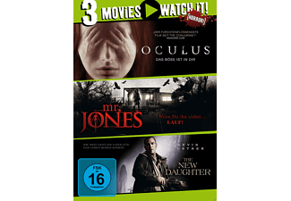 3er Collection: Oculus + Mr. Jones + New Daughter - (DVD)