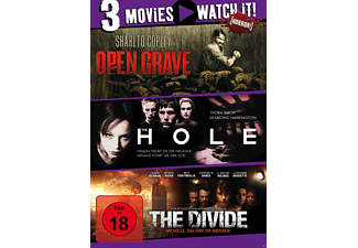 3er Collection: Open Grave + The Hole + The Divide - (DVD)