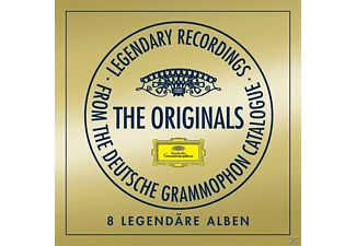 Kleiber/Argerich/Abbado/Mutter/Karajan/+ - The Originals-8 Legendäre Alben (Ltd.Edt.) [CD]
