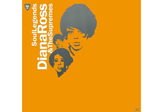 Diana Ross, Diana Ross and The Supremes - Soul Legends-Diana & The Supremes - (CD)