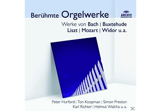 Preston Simon, Hurford/Preston/Walcha/Richter/+ - Berühmte Orgelwerke (Audior) [CD]