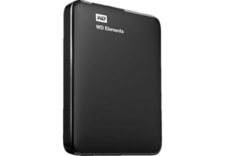 WESTERN DIGITAL Disque dur externe Elements 500 GB (WDBUZG5000ABK)