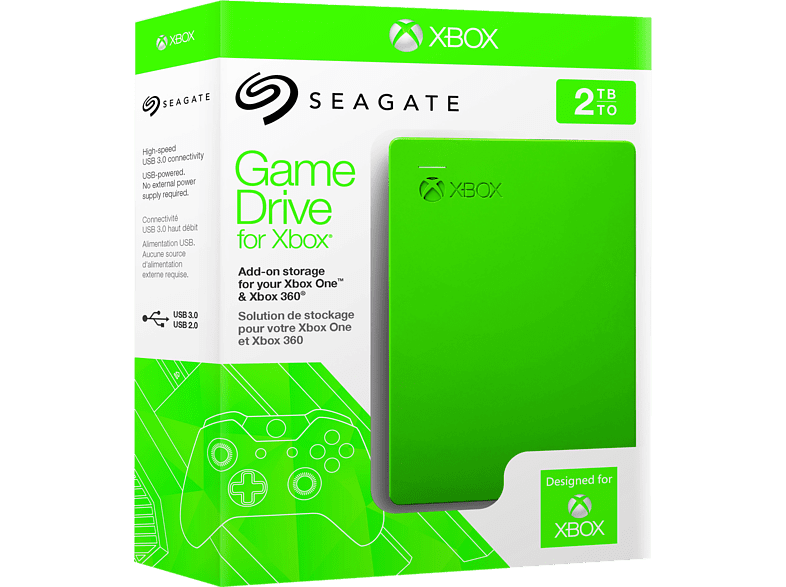 Seagate Game Drive 2TB 2,5