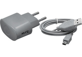 Bigben Interactive Big Ben, Home Charger (Grijs) (New 3DS-New 3DS XL-3DS-3DS XL-2 (N3DSADAPTG)
