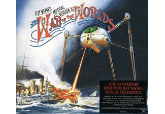 Jeff Wayne - The War Of The Worlds (Világok háborúja) (CD)