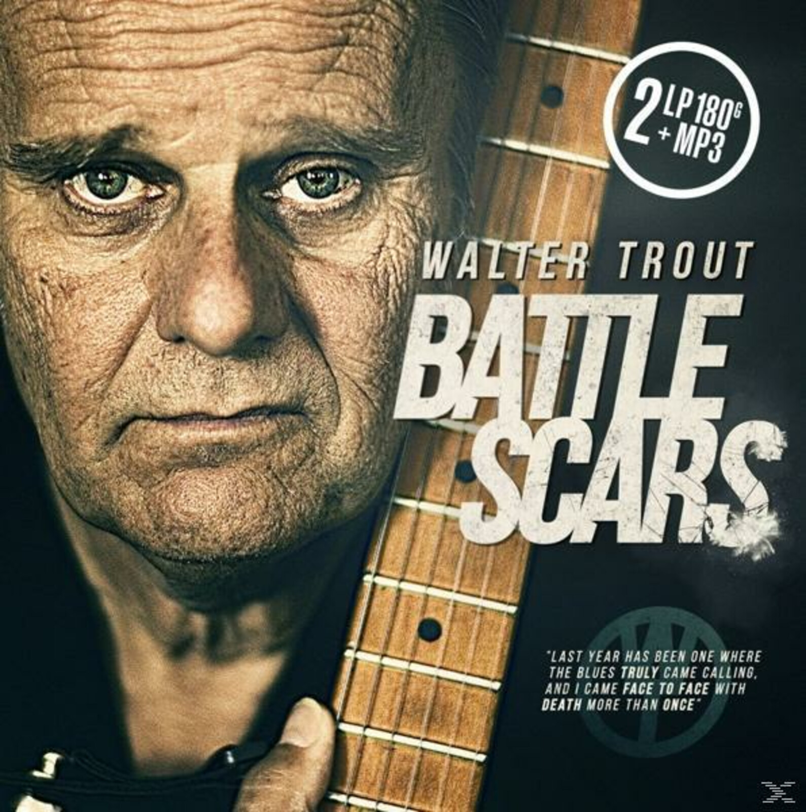 Walter Trout - Battle Scars (2lp 180 Gr.Black Vinyl+Mp3) - (Vinyl)