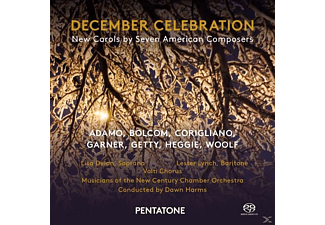 Dawn Harms, The New Century Chamber Orchestra, Adamo - December Celebration - (SACD Hybrid)