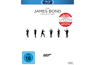 The James Bond Collection (+ Leerplatz für Spectre + Bonus Disc + Booklet, 24 Discs) - (Blu-ray)